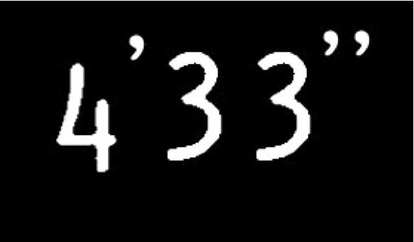 "4'33"""