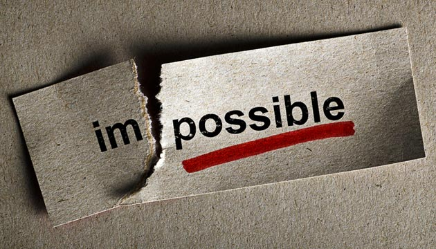 "Is ""The Impossible"" really impossible?"