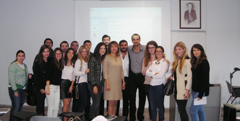 Yeditepe Üniversitesi Satış Yönetimi Dersinden